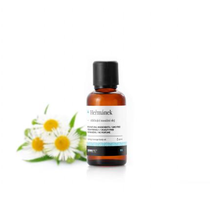 Heřmánek, zklidňující masážní olej