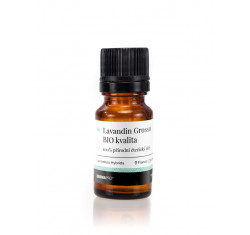 LAVANDIN GROSSO organic, esenciální olej
