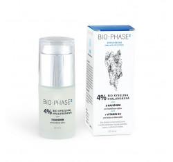 BIO-PHASE2 4% kyselina hyaluronová s kaviárem a vit B3, noční sérum, 30 ml